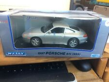 Welly 1997 Porsche 911 (996) 1/18 Scale Die Cast
