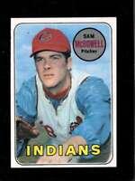 1969 TOPPS #220 SAM MCDOWELL NM INDIANS *XR24189