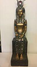 Sitting Egyptian Ornament Figurine by Leonardo Egypt Pharaoh Statue New in Box