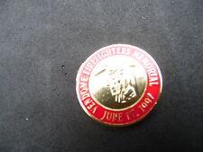 Boston Fire Department Hotel Vendome Tribute Challenge Coin / medallion