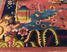 AN AWESOME ART DECO CHINESE RUG 8' X 10'