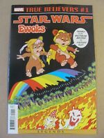 True Believers Star Wars Ewoks #1 Marvel 2019 reprint 9.6 Near Mint+