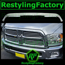 10-14 Dodge Ram 2500+3500 HD Chrome Bug Shield Deflector Hood Guard Protector 12