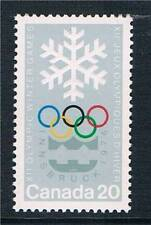 Mint Never Hinged/MNH Olympics Canadian Stamps