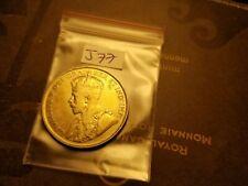 Canada 1931 Rare Keydate High Grade 50 Cent Silver Coin id#j77.