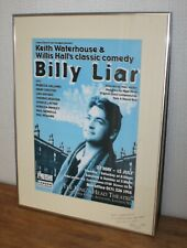 More details for original 1998 billy liar theatre poster - owned by lead actor paul nicholls