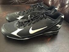 New Nike Zoom Power Channel Mid Metal Baseball Cleats Shoes Mens Size 15