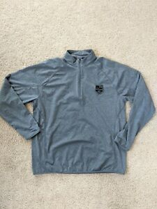 Los Angeles Kings Jacket 1/4 Zip Long Sleeve Pullover Men's Extra Large XL Gray