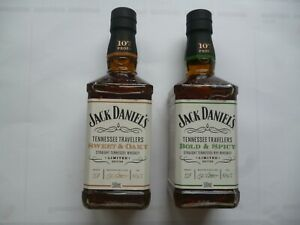 2 - Flaschen Jack Daniels Set - Sweet & Oaky and Bold & Spicy 0,5 L - 53,5%