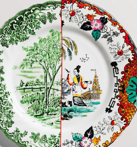 NEW Seletti Ipazia Dinner Plate Tableware Food Serving Salad Dish Gift Xmas Home