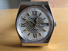 17J SEIKO 5 AUTOMATIC SILVER AND GOLD COLOR DIAL ANALOG WATCH WORKING
