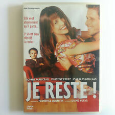 Je reste ! - DVD Zone 2 - Sophie Marceau, Charles Berling, Vincent Perez