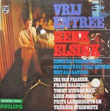HENK ELSINK - VRIJ ENTREE  - LP