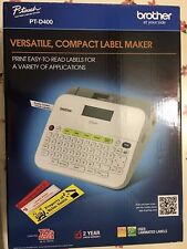 Brand New Brother P-Touch PT-D400 Label Maker ptd400 labeler
