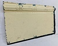 """24"""" Antique Tin Ceiling Border - C. 1890 Star Design Architectural Salvage"""