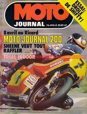 MOTO JOURNAL  406 JAPAUTO CX 500 CBX 1000 SHIFTY DAKAR MJ 200 Russ Collins 1979