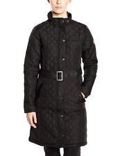 Regatta Audrey Quilted Knee Length Coat Size UK 12 Black Dh077 FF 11