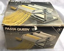 VNT Deluxe Atlas Pasta Queen Noodle Making Machine by Marcato Very Clean