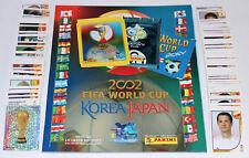 Panini WC WM Korea Japan 2002 - KOMPLETTSATZ COMPLETE SET + ALBUM + Tüte