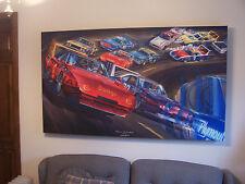 PLYMOUTH SUPERBIRD MAN CAVE ART DODGE DAYTONA FORD TALLADEGA VINTAGE NASCAR 1970
