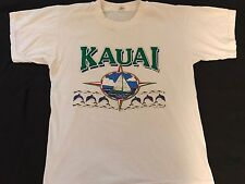 Vintage 80's Kauai Hawaii Tourism Screen Stars T-Shirt Medium