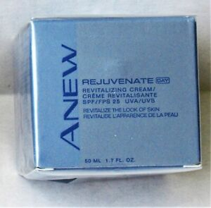 Avon Anew Rejuvenate Day Revitalizing Cream SPF/FPS 25 UVA/UVS 1.7 fl. oz SEALED