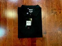 Adidas Men's S/Slvs Clima Lite Golf Polo, Black, 3XL. Sug Retail: $60.00