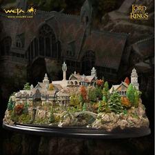 WETA The Hobbit Rivendell Environment Diorama Statue LOTR SEALED NEW