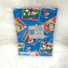 """DISNEY ALL STAR MICKEY MOUSE GIFT WRAP """"NWT"""" 20IN X 30IN GIFTWRAP SHEETS 2 SETS"""