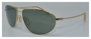 NEW AUTH SUNGLASSES MOSLEY TRIBES LEGACY(60) G GOLD / GREY GREEN VFX LENS