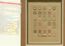"Something Different ""Perle with Pearl"" Counted Needlepoint Chart & Embellishment"