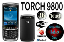 Blackberry Torch 9800 4gb Grey (Senza SIM-lock) 3g WLAN Touch 5,0mp GPS Top Ovp
