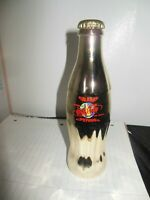 Coca Cola 1997 Commemorative Las Vegas Grand Opening World Gold Bottle Numbered