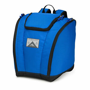 High Sierra Ski Snowboard Boot Bag Backpack Vivid Blue/Black One Size 53892-0688