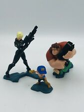 Wreck It Ralph Hero's Duty Figurine Playset Disney Store Fix it Felix Sergeant C