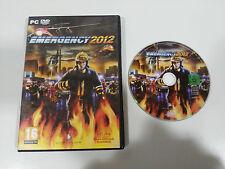 EMERGENCY 2012 JUEGO PC ESPAÑOL DVD-ROM DEEP SILVER QUADRIGA GAMES