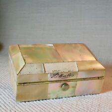 """Dose Box Perlmutt """"St.Malo"""" ca 1930"""