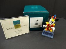 WDCC The Band Concert ~ Mickey Mouse 70th Birthday ~ FROM THE TOP ~ Box & Coa