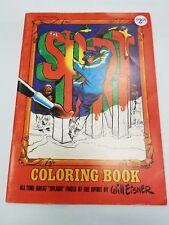 The Spirit Coloring Book Unused Will Eisner Studios HTF 1974