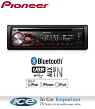 Pioneer DEH-4800BT STEREO, CD MP3 USB AUX BLUETOOTH unità di testa, suona iPod iPhone