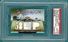 2011 Topps Triple Threads Relic, Jeremy Hellickson Auto Issue  #137 PSA 10! POP1