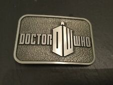 DR WHO New BELT BUCKLE Metal Pewter Dalek Tardis