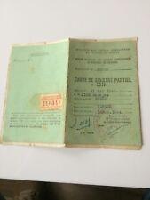 39645  CARTE DE SINISTRE PARTIEL  MEUSE VERDUN 1944 ANCIEN COMBATTANT