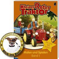 Kleiner Roter Traktor! Malen und Spielen Band 1: Mit über 50 Stickern (Malbuch)