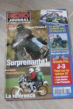 MOTO JOURNAL N°1274 DUCATI 944 ST2 HONDA 750 AFRICA TWIN 24 HEURES DU MANS 1997