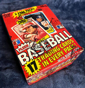 1981 Fleer Baseball Card Wax Box BBCE Authenticated & Wrapped 38 Packs