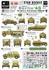 Star Decals 1/35 Battle for Berlin '45 End of 11.SS-Pz.Gren.Div Nordland 35981 x