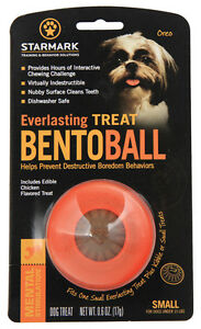 Everlasting Treat Bento Ball For Dogs & Puppies. Extra strong & dog love them !!