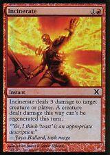 Incinerate FOIL | ex | 10th | Magic MTG