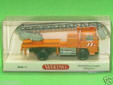 1:87 Wiking 064401 Hebebühnenwagen (Magirus) Blitzversand per DHL-Paket